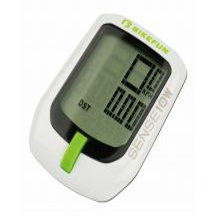 Kilométeróra / GPS BikeFun Sense 10 fehé